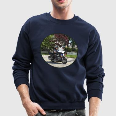 Motorcycle Police Officer - Crewneck Sweatshirt