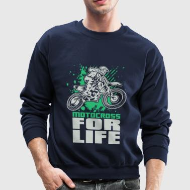Motocross For Life Stunt - Crewneck Sweatshirt