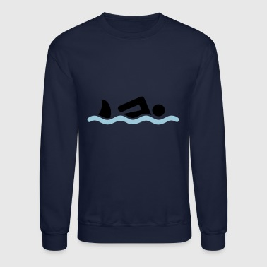 swimming - Crewneck Sweatshirt