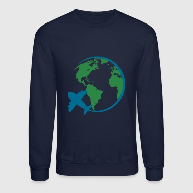 world travel - Crewneck Sweatshirt