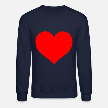 Cuore 2000px Love Heart SVG svg - Crewneck Sweatshirt