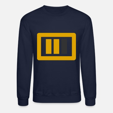 Trevisionreel gold dark grey big logo - Crewneck Sweatshirt