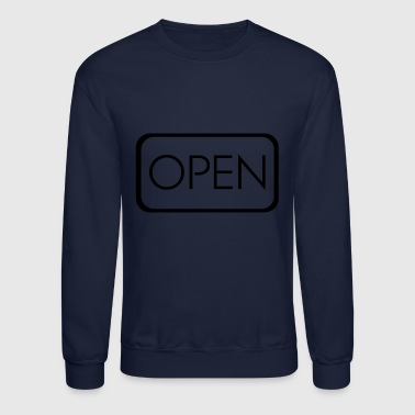 Open - Crewneck Sweatshirt