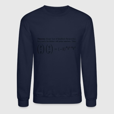 Gauss' Law of Quadratic Reciprocity - Crewneck Sweatshirt