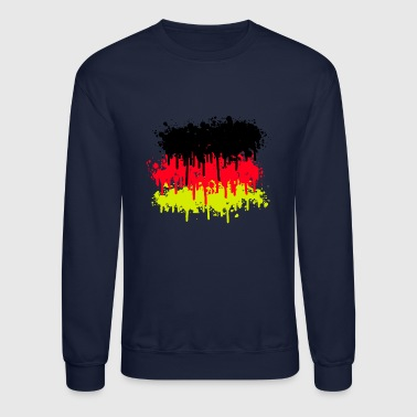 germany flag, germany, soccer - Crewneck Sweatshirt