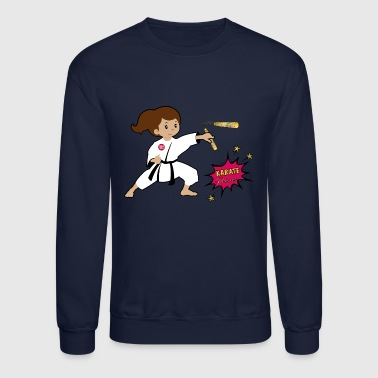 Butt Karate princess - Crewneck Sweatshirt