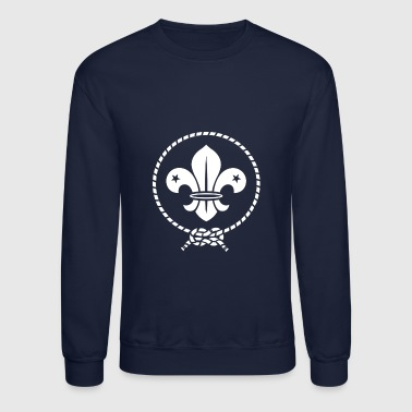 boy scout word - Crewneck Sweatshirt