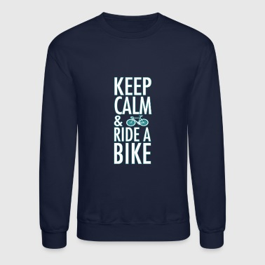 ride a bike - Crewneck Sweatshirt