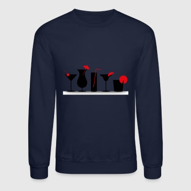 cocktails - Crewneck Sweatshirt
