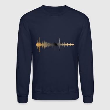Sound Waves Sound Wave - Crewneck Sweatshirt