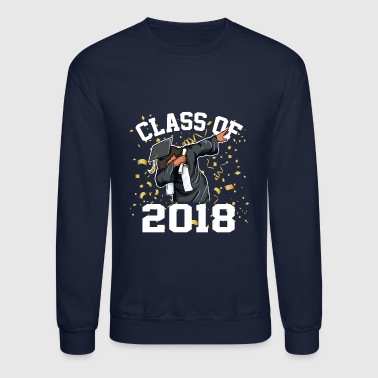 The Dabbing Graduation Class of 2017 Funny Gifts - Crewneck Sweatshirt