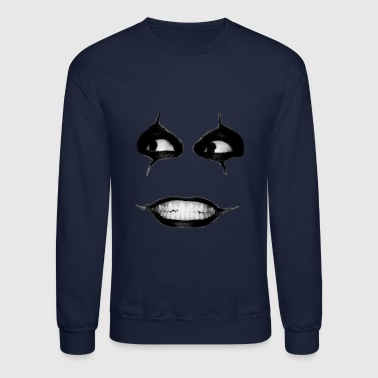 Creepy creepy face - Crewneck Sweatshirt