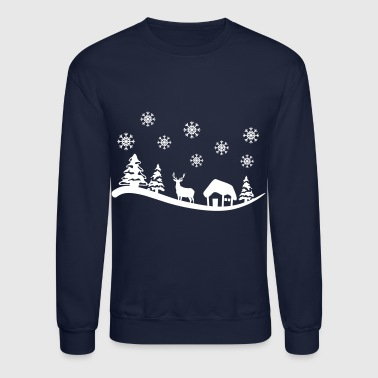 Winter Landscape - Crewneck Sweatshirt