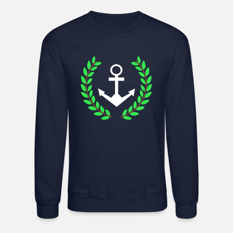 Anchor Hoodies & Sweatshirts - Pablo Escobar The Anchor - Unisex Crewneck Sweatshirt navy