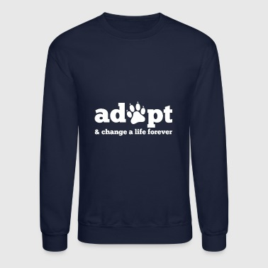 Dogs Cats Adopt - Crewneck Sweatshirt