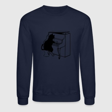 piano - Crewneck Sweatshirt