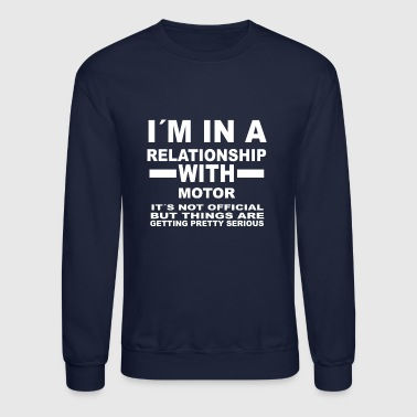 relationship with MOTOR SPORTS - Crewneck Sweatshirt