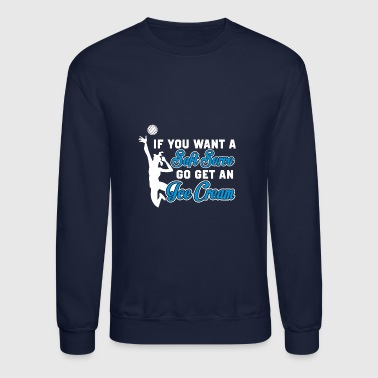 VOLLEYBALL VOLLEY PRESENT - Crewneck Sweatshirt