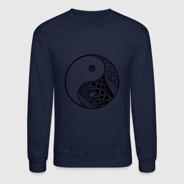 Yin and yang - Crewneck Sweatshirt
