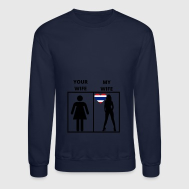 Thailand Thailand geschenk my your wife - Crewneck Sweatshirt
