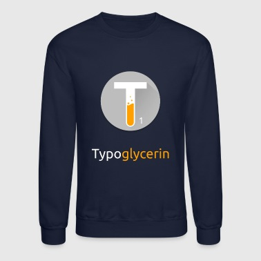 Typoglycerin Logo Ecofriendly T-Shirt - Crewneck Sweatshirt