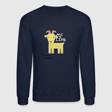 Limited Edition Galaxy Goats Merch - Crewneck Sweatshirt