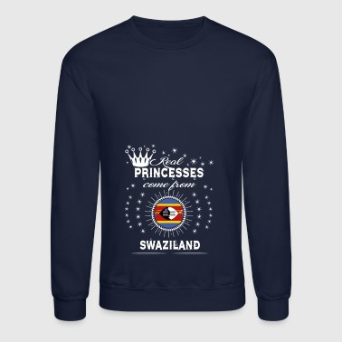 queen love princesses SWAZILAND - Crewneck Sweatshirt