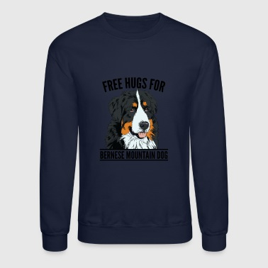Dogs - Bernese mountain dog - Crewneck Sweatshirt
