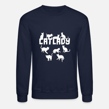 Cat Lady Cat lady - Crewneck Sweatshirt
