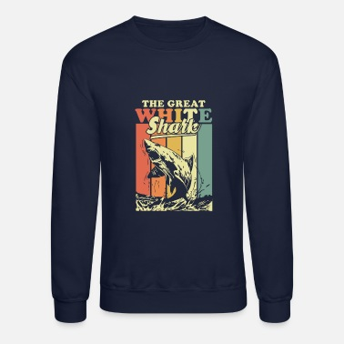 Great White Shark The Great White Shark - Crewneck Sweatshirt