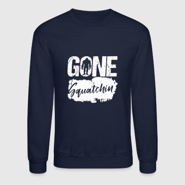 Bigfoot gone squatching - Crewneck Sweatshirt