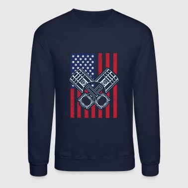 Racing Flag - Crewneck Sweatshirt