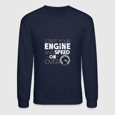 car vehicle motor race oldtimer - Crewneck Sweatshirt