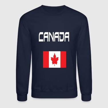 Canada T-shirt Canadian Flag TEES - Crewneck Sweatshirt