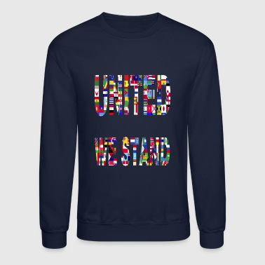 United Unity Togetherness Cooperation Stand Wisdom - Crewneck Sweatshirt