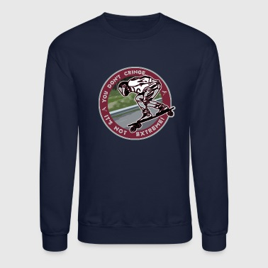 You Don't- It's Not (Maroon Circle) - DH Sk8 - Crewneck Sweatshirt