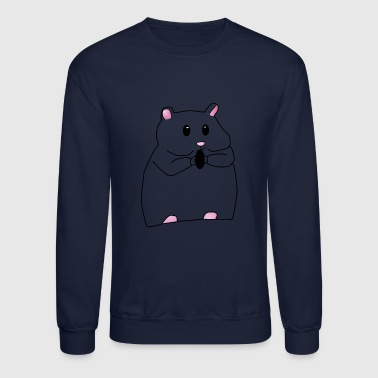Rodent Hamster animal rodent gift - Crewneck Sweatshirt
