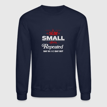 Is the sum of small - Crewneck Sweatshirt