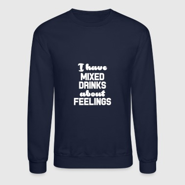 Mixing mixed drinks - Crewneck Sweatshirt