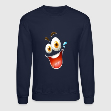 Happy Face - Crewneck Sweatshirt