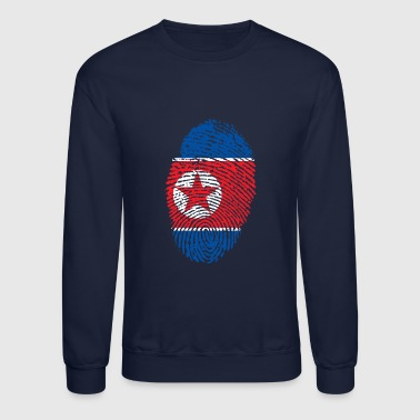 north korea - Crewneck Sweatshirt