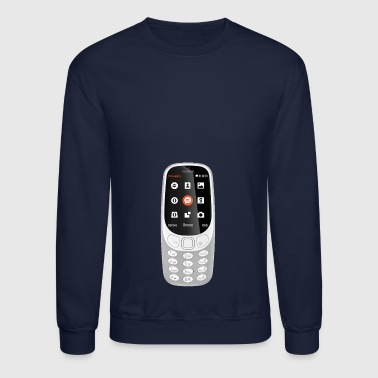 Mobile Mobile Phone - Crewneck Sweatshirt