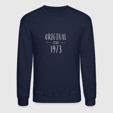Original since 1973 distressed - Born in 1973 - Crewneck Sweatshirt