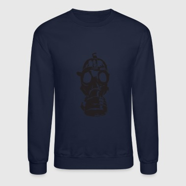Gas gas mask - Crewneck Sweatshirt