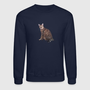 Bengal Cat - Crewneck Sweatshirt