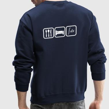 Maths_mathematics_eat_sleep_calculate - Crewneck Sweatshirt