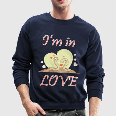 I am in love - Crewneck Sweatshirt