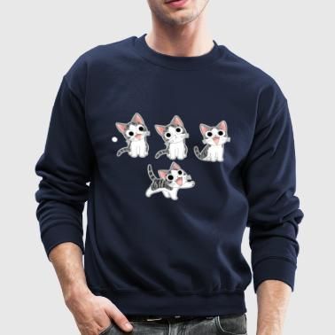 FOUR LITTLE KITTIES - Crewneck Sweatshirt