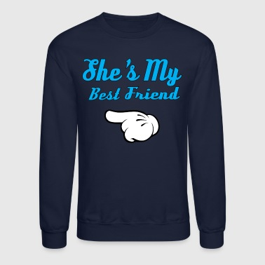 She is my Best Friend - Crewneck Sweatshirt