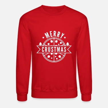 Pizza Merry Crustmas - Unisex Crewneck Sweatshirt